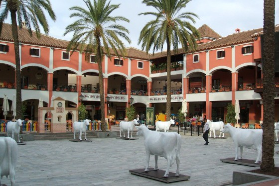 Malaga shopping center