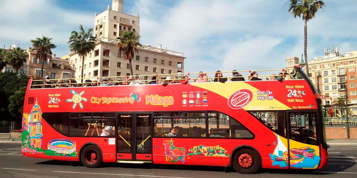 Sightseeing Bus in Malaga