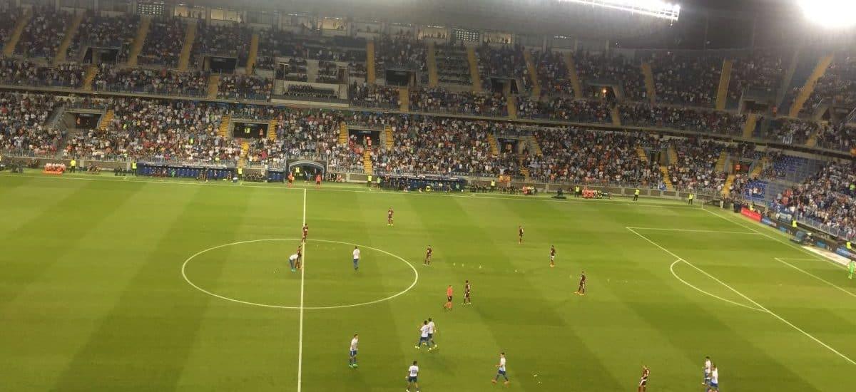 Malaga plays at La Rosaleda