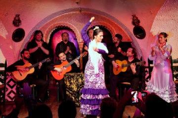 Watch a flamenco show