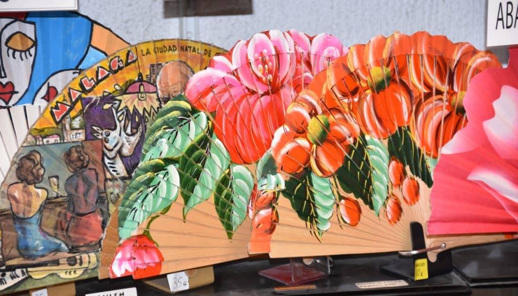 Hand-made fans Malaga