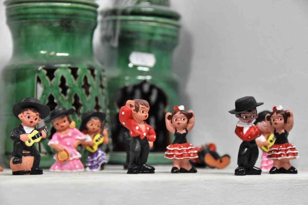 Hand made ceramic figurines