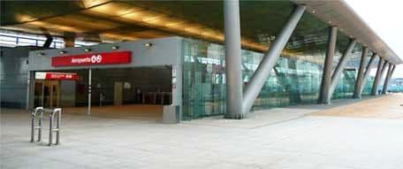 Train station at Malaga airport
