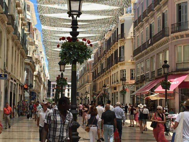 Shopping on Calle Larios