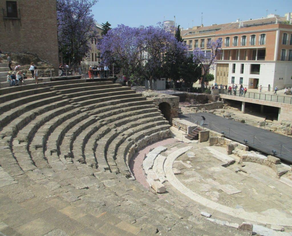 Seating Malaga roman theater