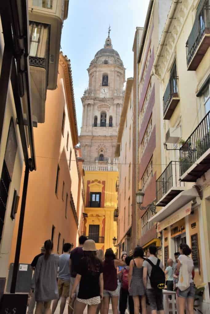 Malaga tour Cathedral