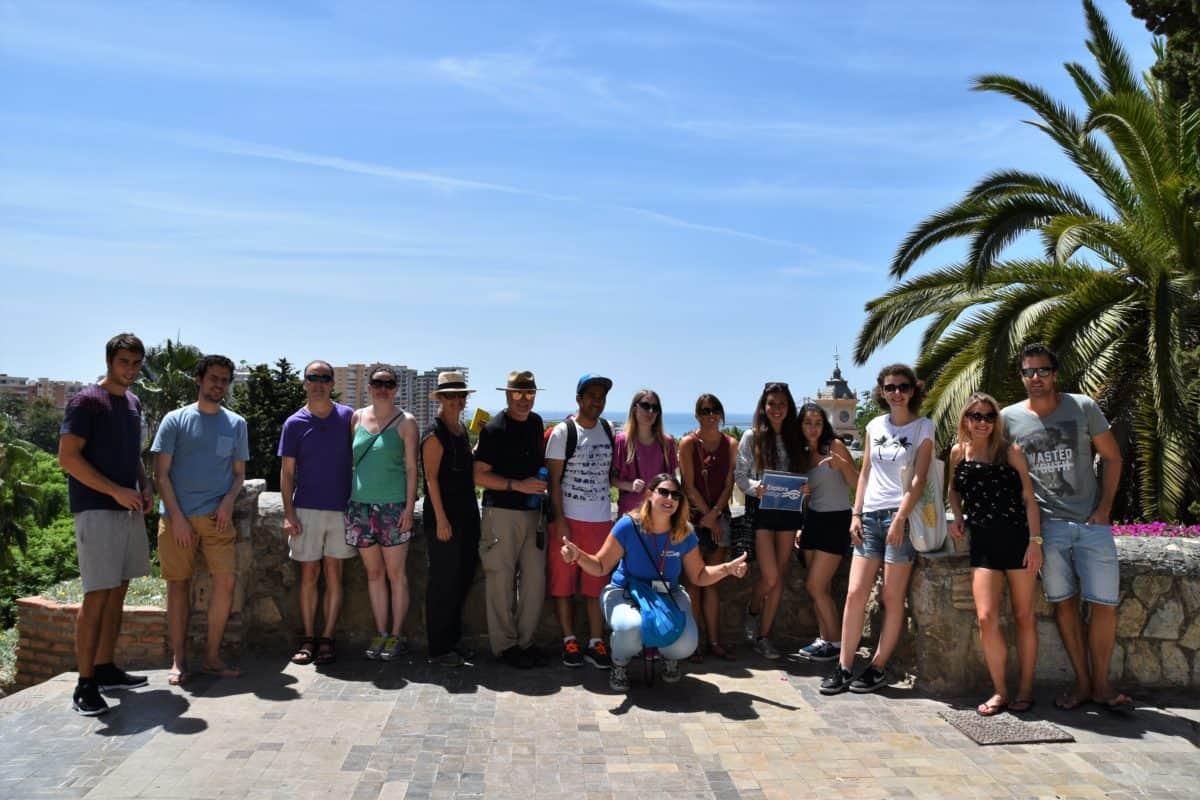 Tour group Malaga