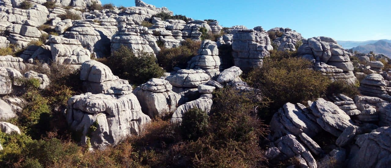 Day trip for the family: Jurassic age land formation at El Torcal Malaga