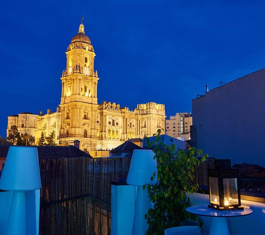 Malaga S Top 10 Rooftop Bars Solaga