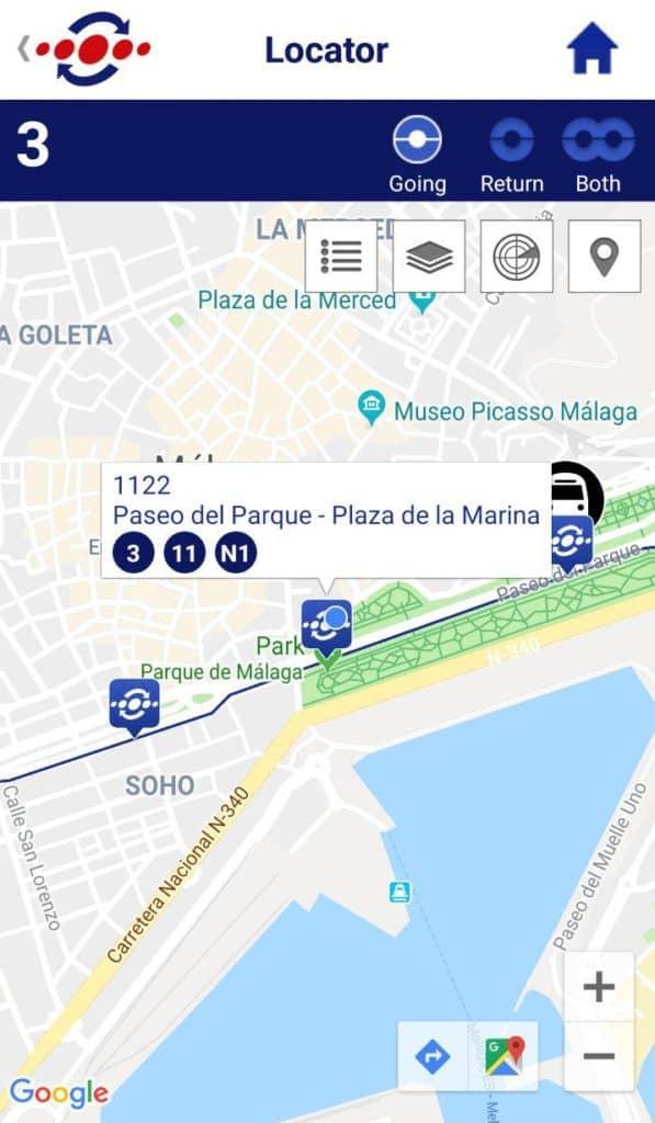 EMT Malaga App